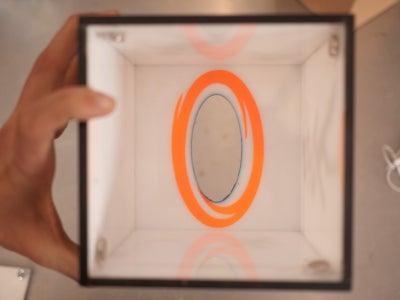 Portal Tissue Box