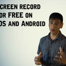 How to screen record on IOS and Android