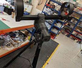 "3D Printed 8"" GOTO Telescope."