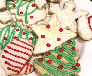 Best Tasting Sugar Cookies and Icing