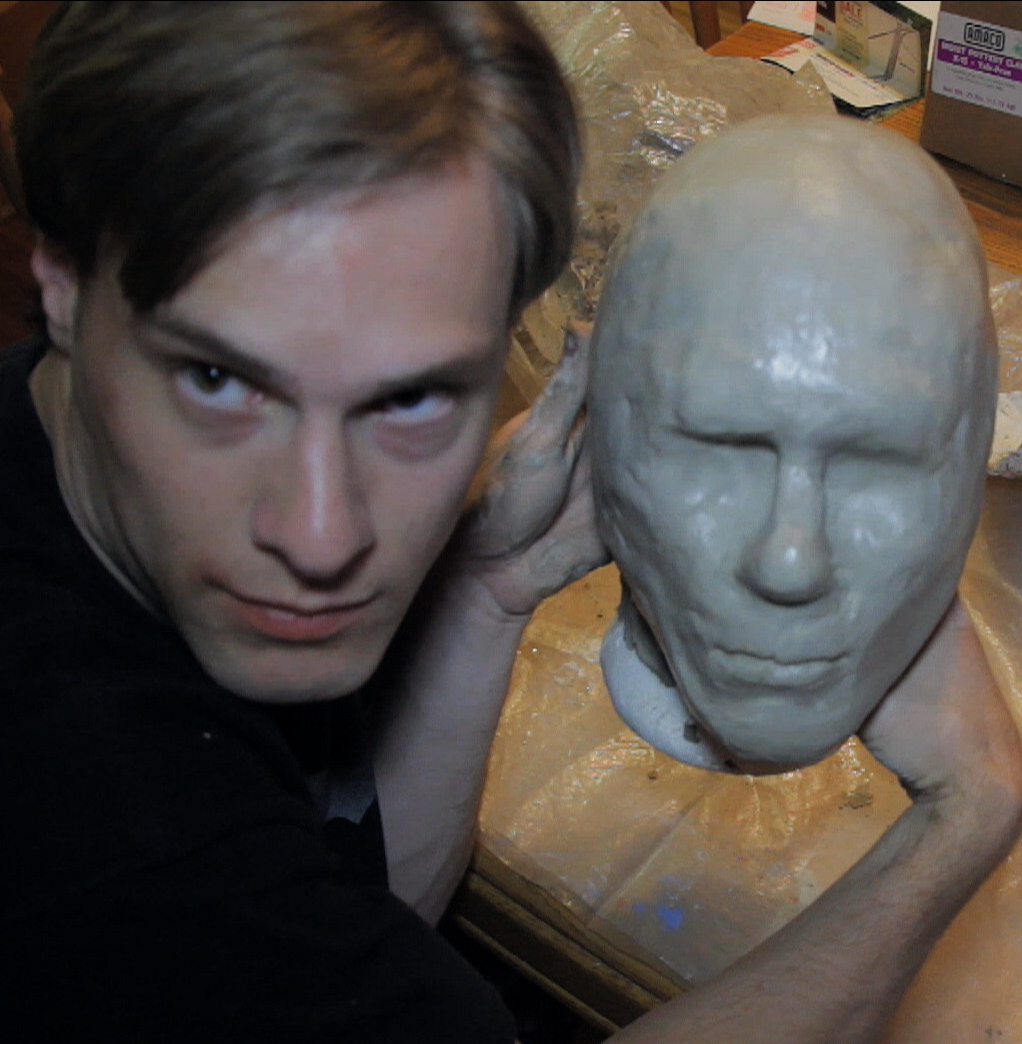 Latex Mask Part 1: Head Mold and Clay Sculpt