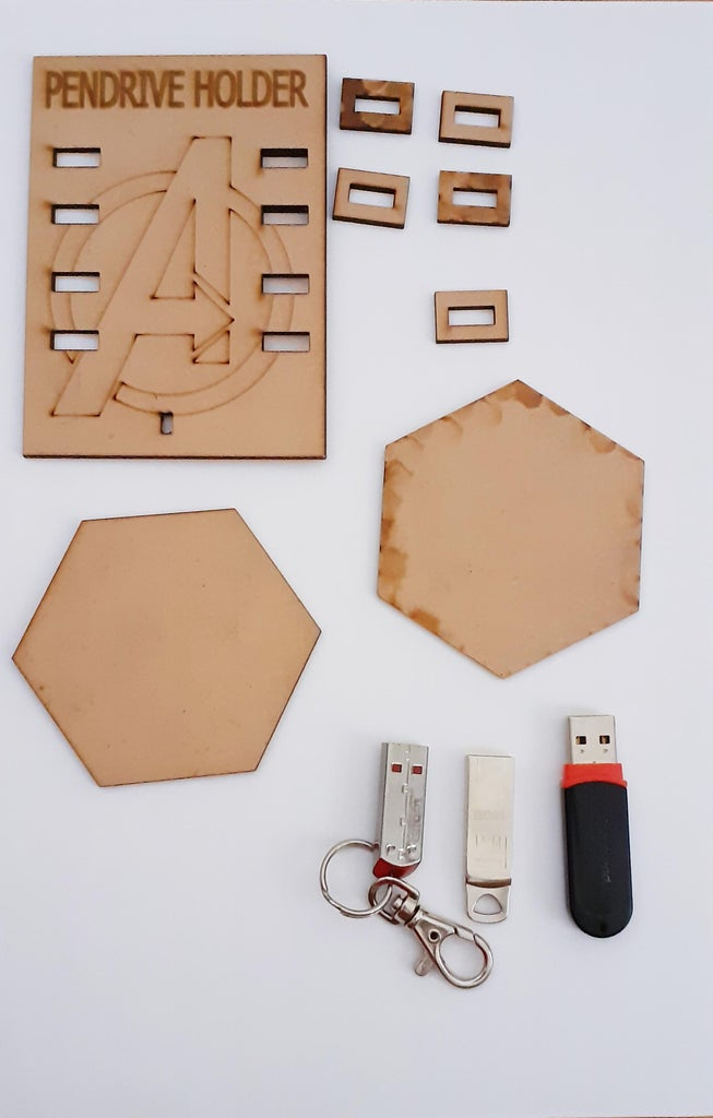 LASER CUT ALL THE PARTS