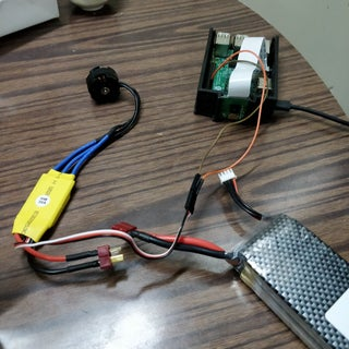 Driving an ESC/Brushless-Motor Using Raspberry Pi