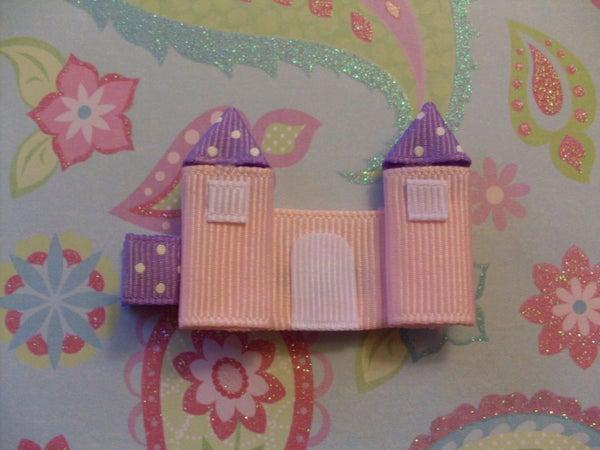 How to Make a Princess Castle Hair Clippie