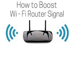 How to Boos Wi-Fi Router Signal and Speed