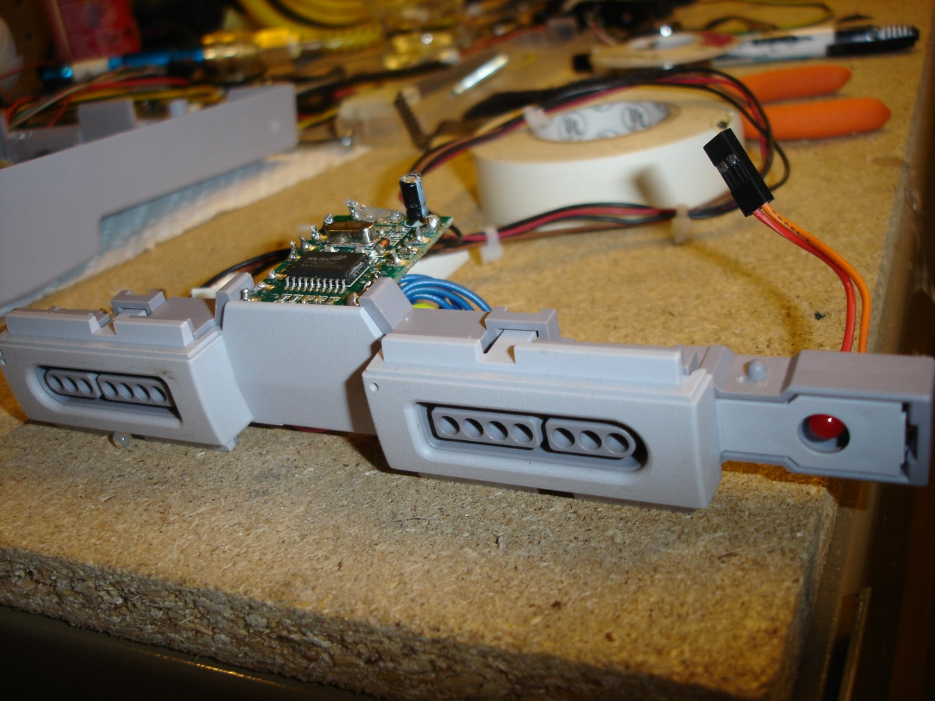 Put Together the Controller Port