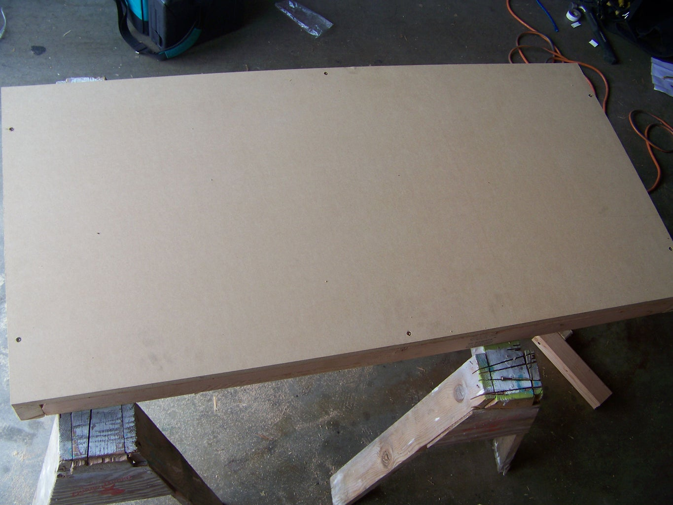 Attaching MDF to Top Support