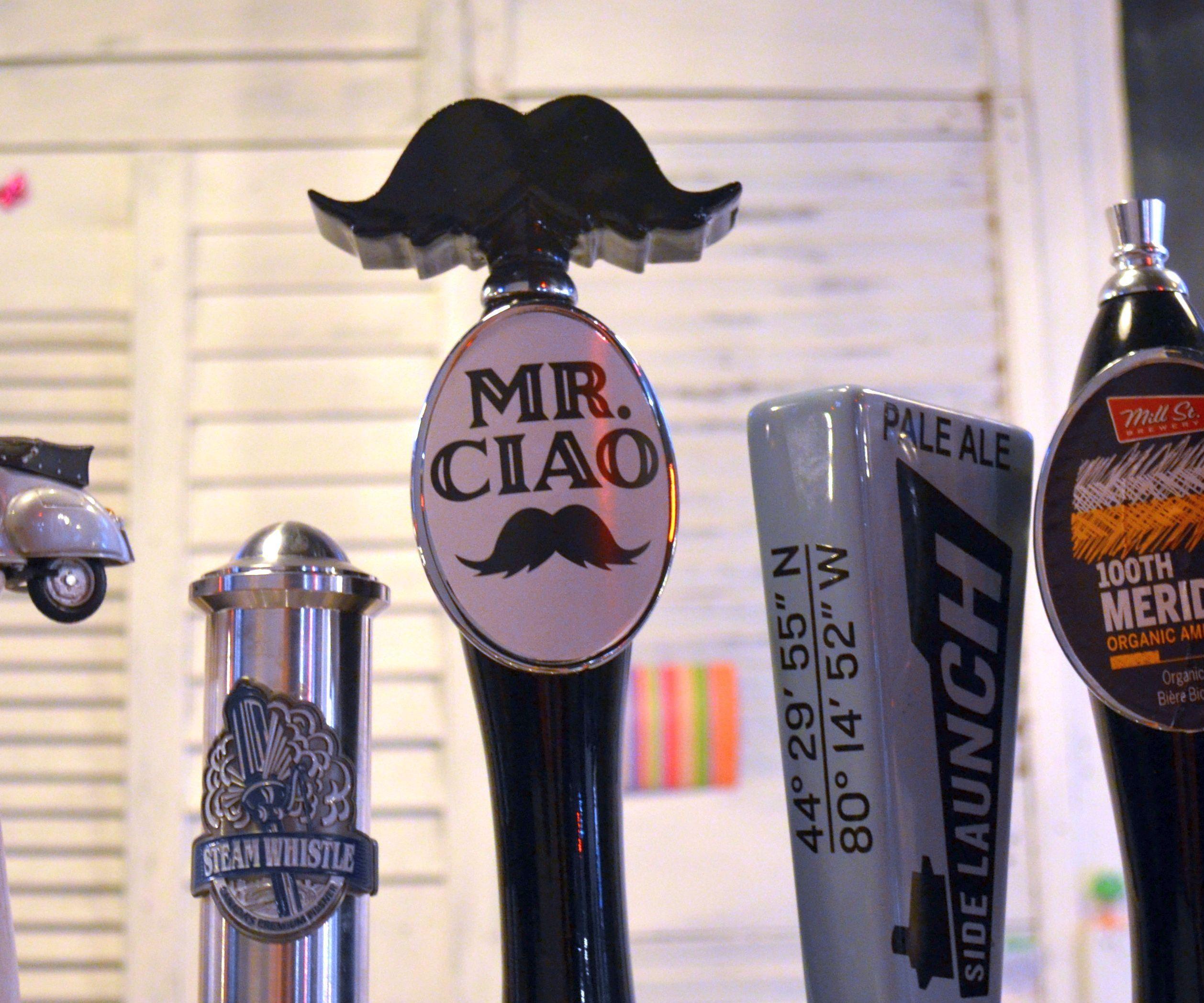 3D Printed Mustache Beer Tap Handle