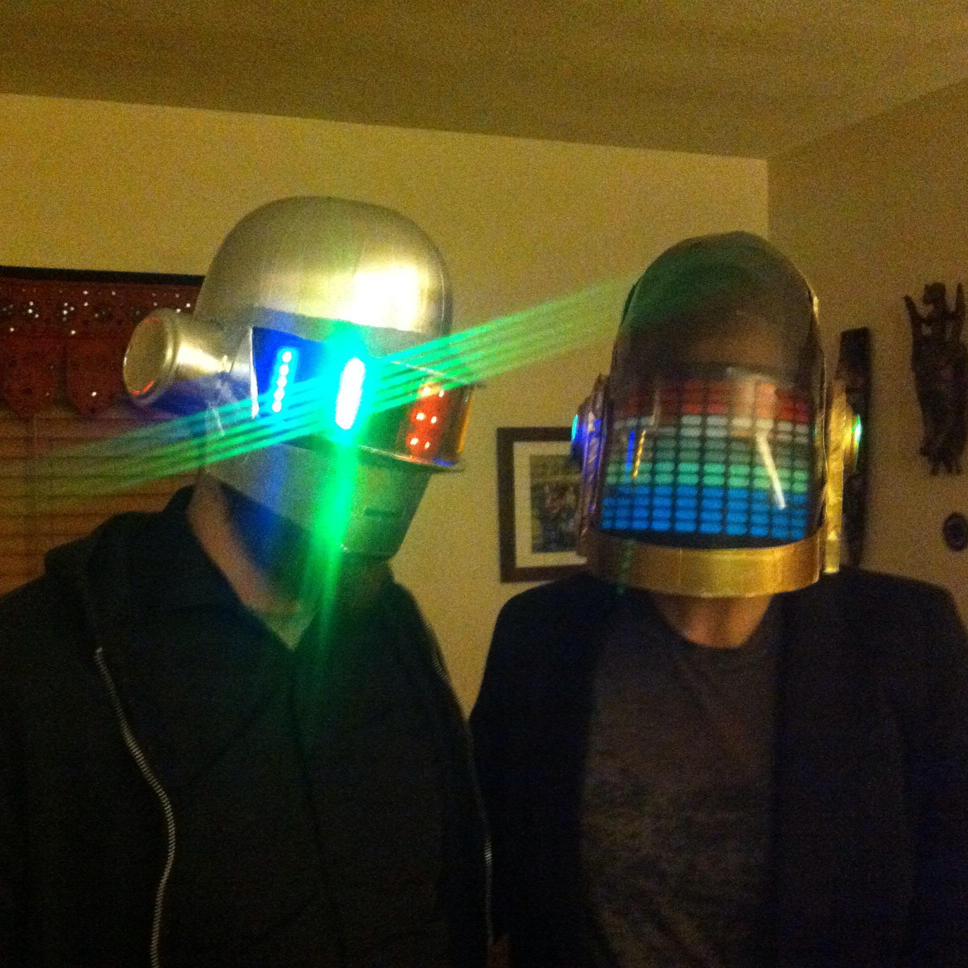 Easy and inexpensive Daft Punk (Thomas) Helmet
