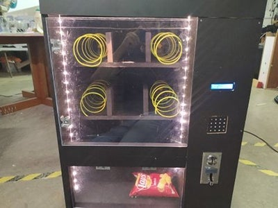 Finished Up the Vending Machine