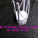 3D Printed Rocket Test Stand