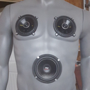 Rechargeable Bluetooth mannequin speaker