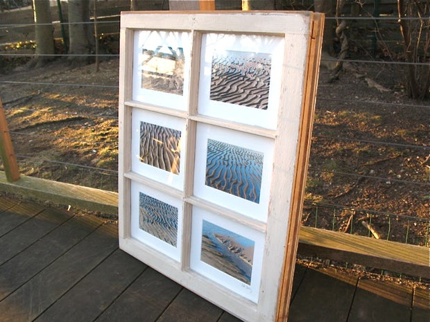 Old Window Picture Frame 7 Steps With Pictures Instructables