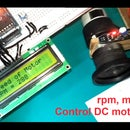 Motor speed tester using Arduino & IR sensor