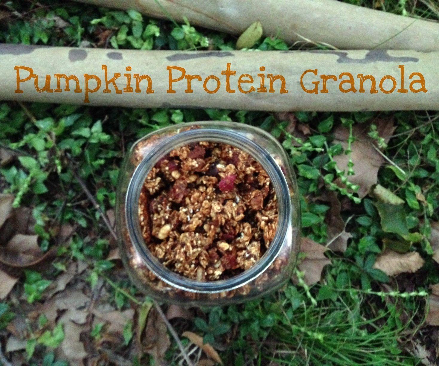Pumpkin Protein Granola