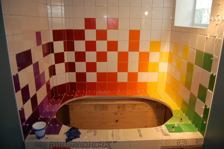 Tiling: Adhesive Time