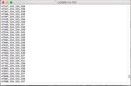 Program the Data Logger