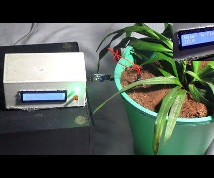 Automated Plant Watering Indicator - Arduino