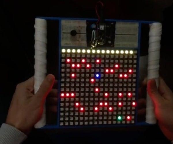Arduino Neopixel Game Console