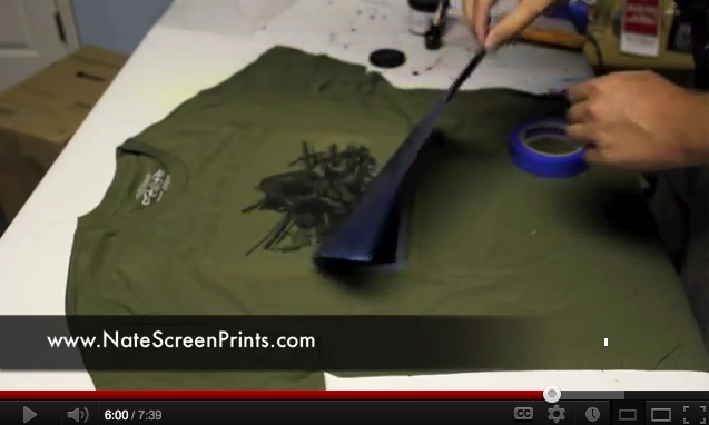 AMAISINGLY Simple Way to Screen Print at Home