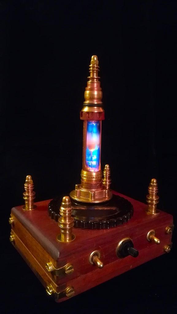 Steampunk Oriental Night Light - Nur-al-Andalus