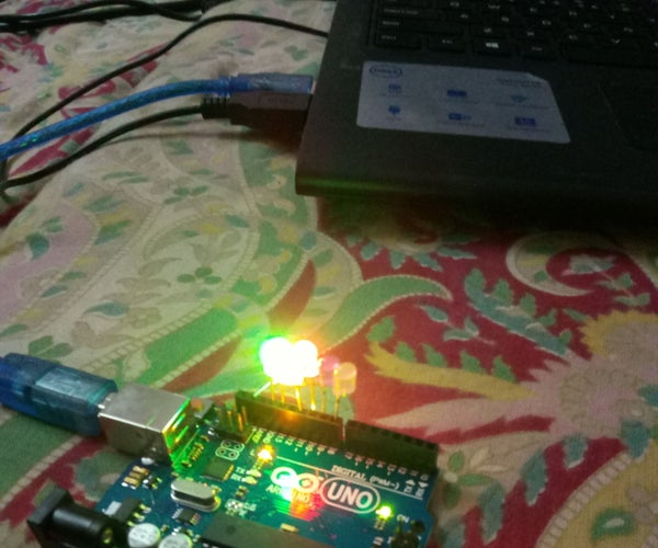 Led Blinking Project.