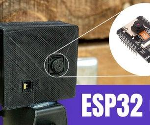 A Super Easy Security Camera With the ESP32 CAM