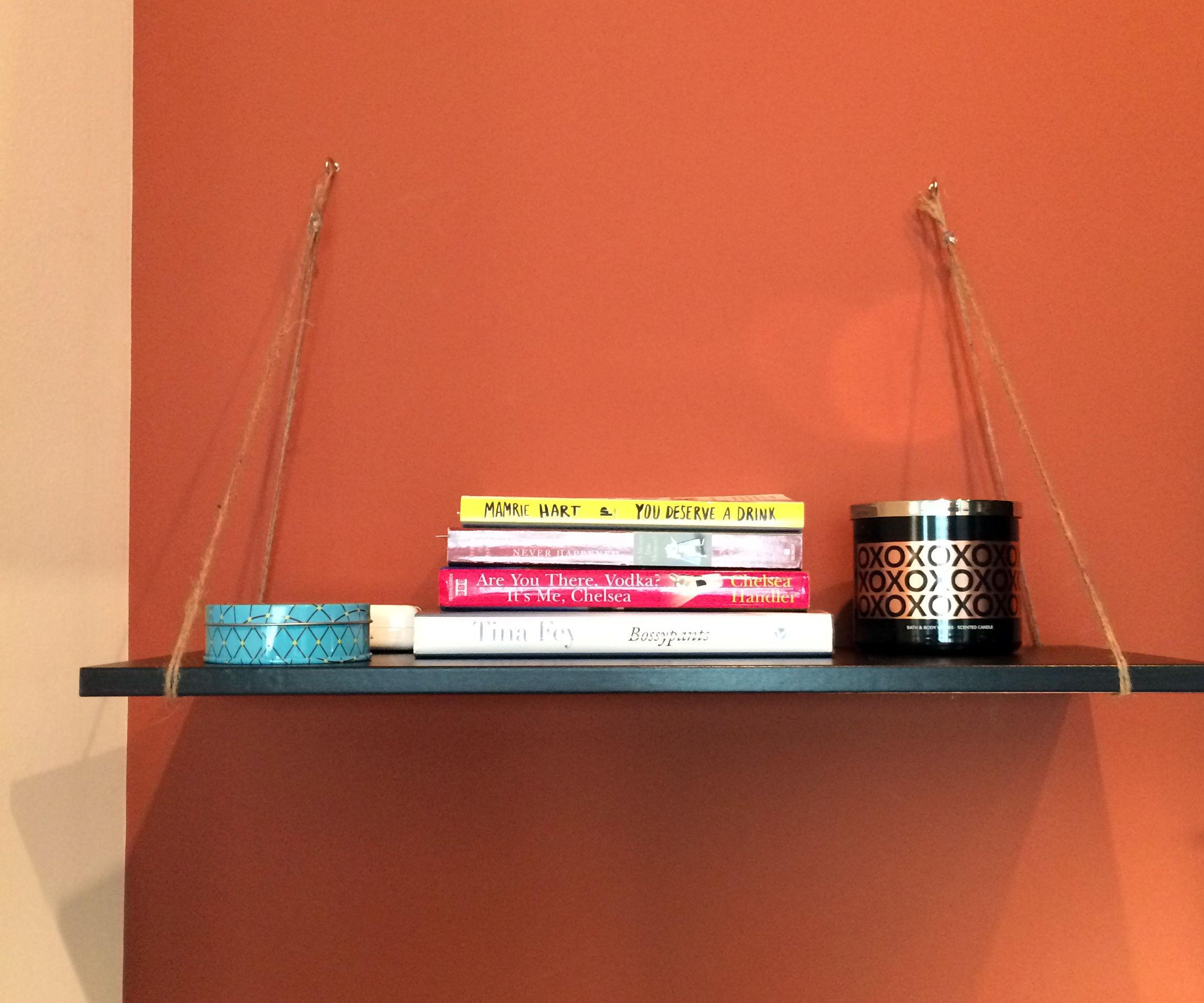 Easy Shelf for Office Nook