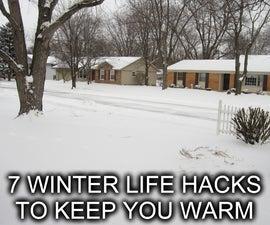 7 Winter Life Hacks to Keep You Warm