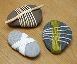 DIY Decorative Wrapped Stones | Japanese-Inspired Crafts