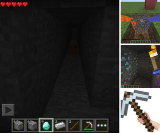 Mining in Minecraft