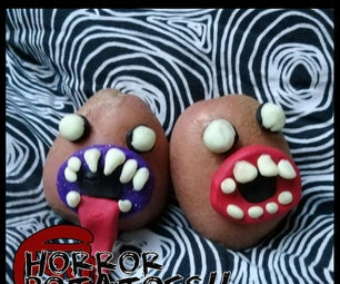 恐怖的土豆!