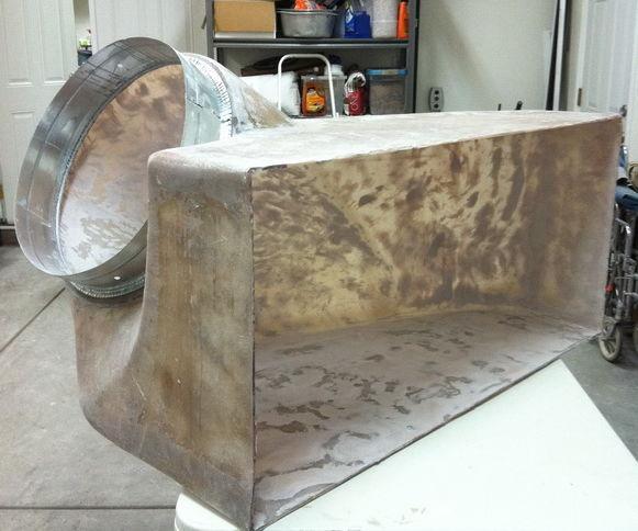 HVAC Return Air Filter Box