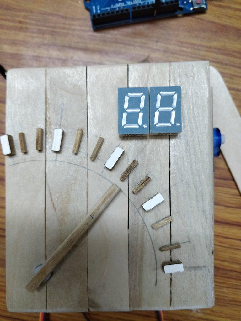 Seven-segment Display for Mins