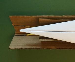 纸板纸飞机发射器