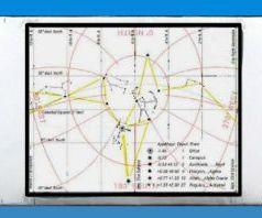 Slide Sky-Map for Displaying Tropical Stars.
