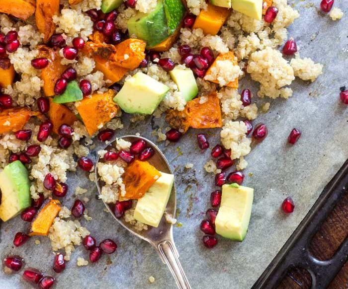 Butternut Squash Salad With Quinoa