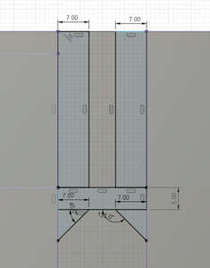 Design Process - Stationary Fixture - Alignment Sides