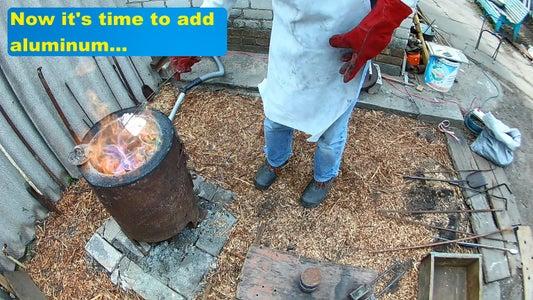 Copper Started Melting