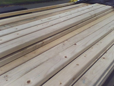 Step 1: Select/Cut Dimensional Lumber