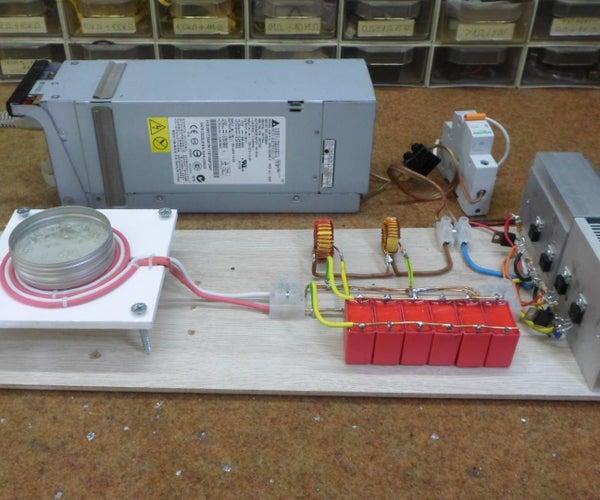 DIY Induction Heater With BIFILAR Flat(Pancake) Coil