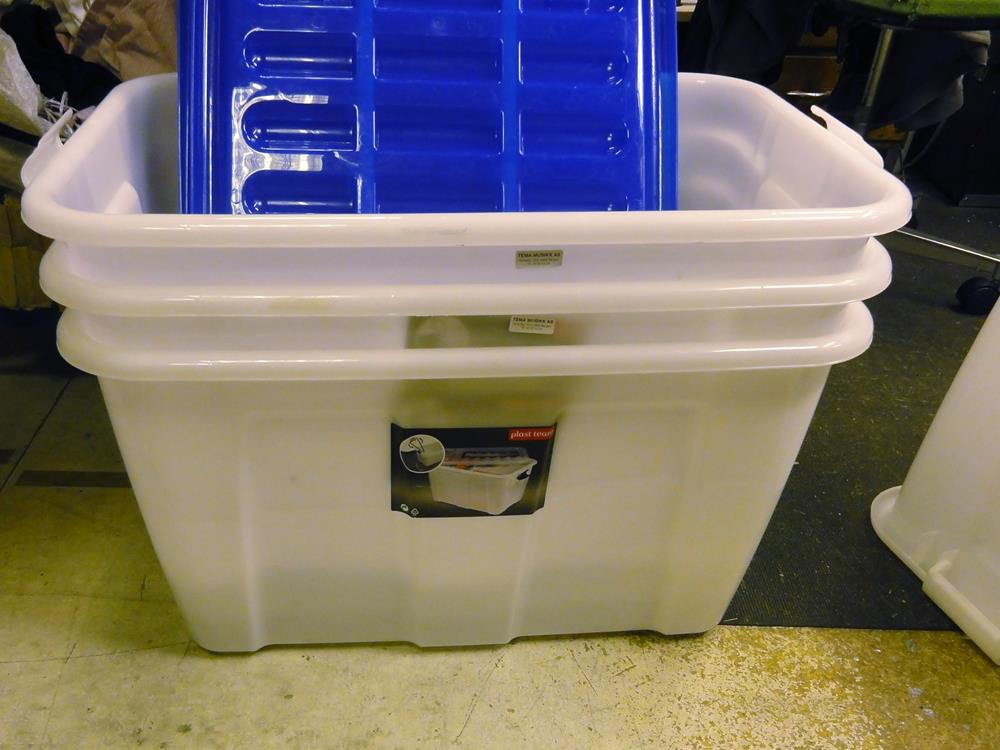 Repairing Broken Wheels On Plastic Storage Bins
