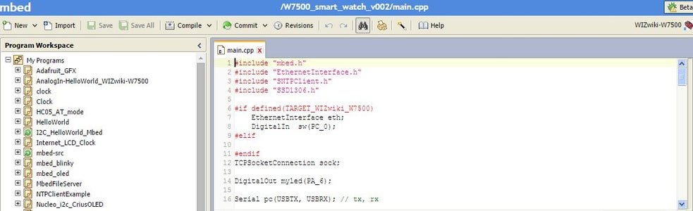 Mbed Web Complier and CMSIS-DAP