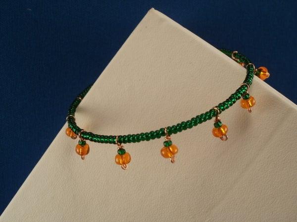 Lil' Pumpkin Patch Bracelet