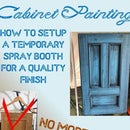 Painting Those 'Pinterest Blue' Glazed Cabinets