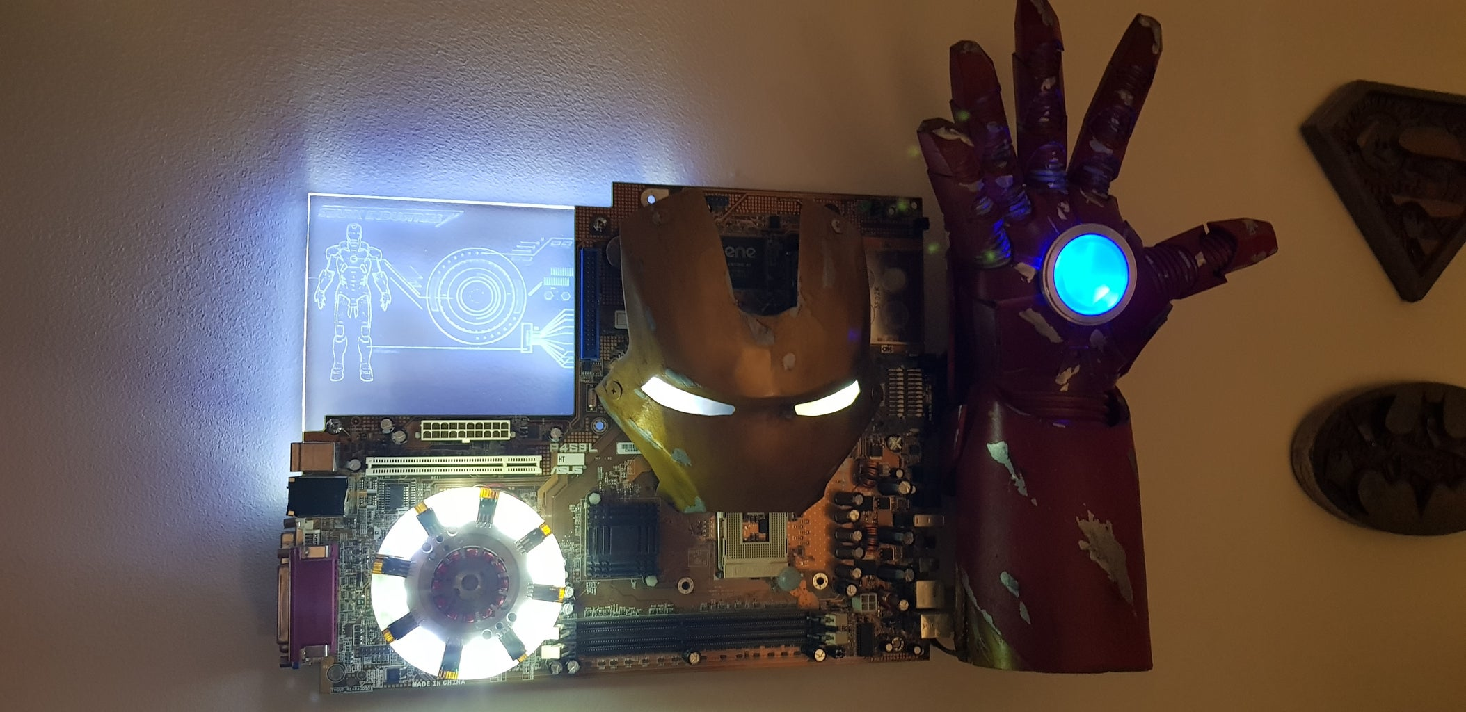 A Stand for Tony's Work (Ironman Jarvis Console)