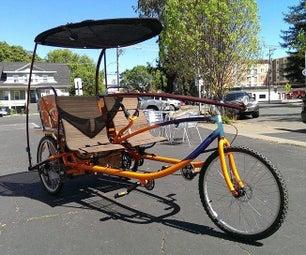 Sociable Tandem Cargo Trike