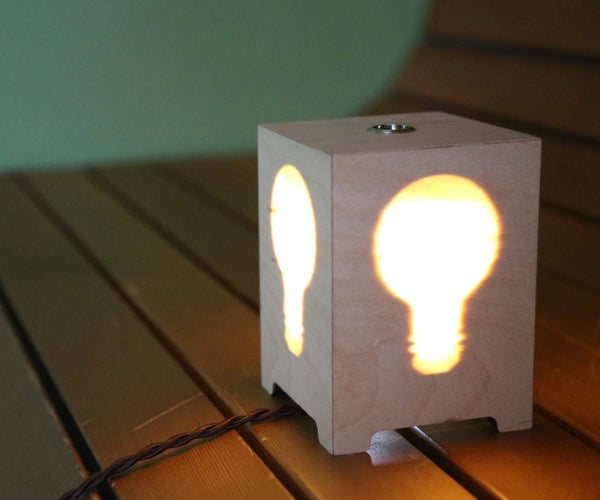 Hidden Silhouette Lamp
