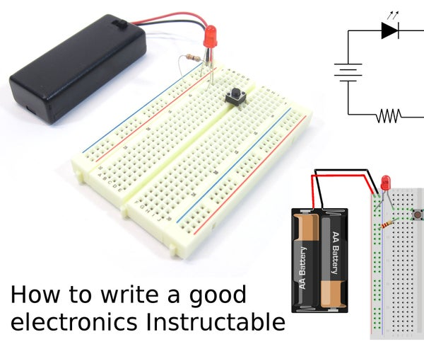 How to Write a Good Electronics Instructable