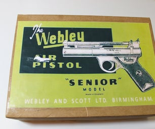 Vintage Webley Senior Airgun Stripdown.
